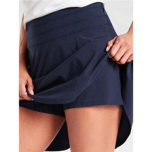 Athleta blue All Day Skort skirt short tennis golf